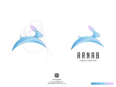 arnab logo ux vector ui illustration logotype design logo logo design branding icon