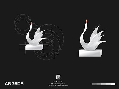 angsor logo ux vector ui illustration logotype design logo logo design branding icon