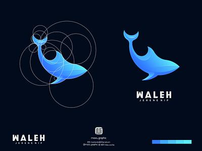 waleh logo ux vector ui illustration logotype design logo logo design branding icon