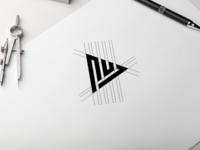 nul monogram logo