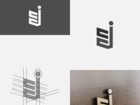 CJ lettermark logo