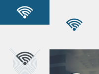 FC + Wifi Logo Concept
