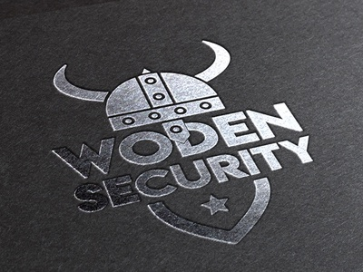 Logo Wooden Security