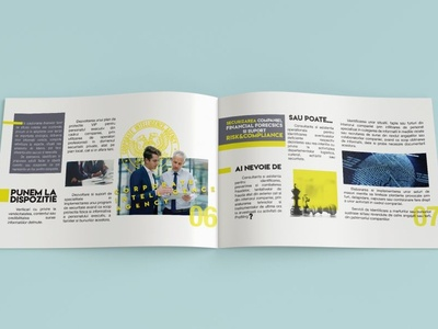 Brosura branding business design brochure design