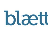 blaettr logo, wordmark