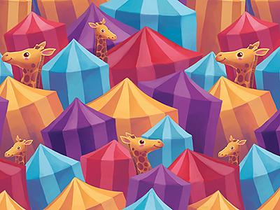 Tents pattern