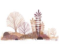 Gouache Landscape 1