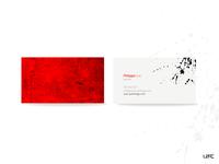 Uzac Artist Business Cards
