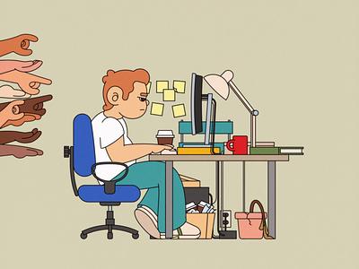 So you want to be a designer... design adobe illustrator illustration desk art director studio office designer