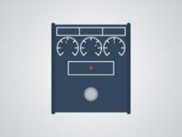 Flat Guitar Pedal - Proco Rat