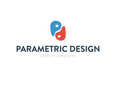 Parametric Design - Logo 02 logo brand parametric design branding adobe illustrator corporate identity