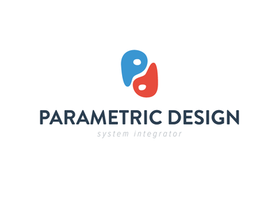 Parametric Design - Logo 02 logo brand parametric design branding adobe illustrator corporate identity