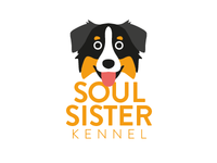 Soul Sister Kennel - #02 logo brand branding dog adobe illustrator corporate identity