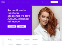IDA Website vector flat marketing big font vibrant colors big picture ui  ux design influencer website ux design ui design