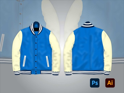 Jacket Mockup vector drawing mockup illustration adobe illustrator adobe photoshop digital art design art adobe kingtharu