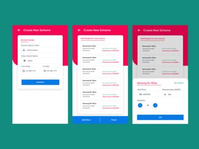 Scheme Making app