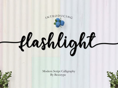 NEW Flashlight Script | Calligraphy