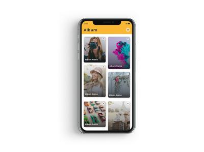 Gallery App design