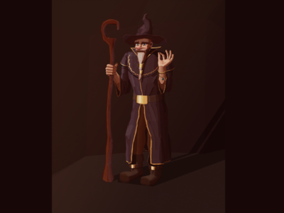 Wizard Concept Art