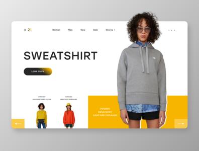 Fashion Ecommerce Website / ui design
