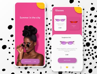 Fashion Ecommerce Mobile App / ui design