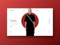 E-commerce website / UI design