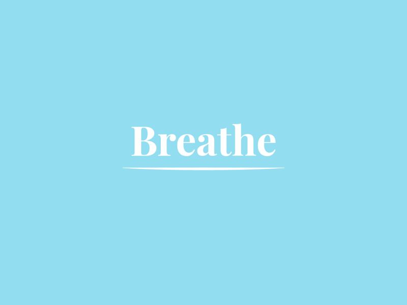 Breathe - Mantra Weekly Warm-Up