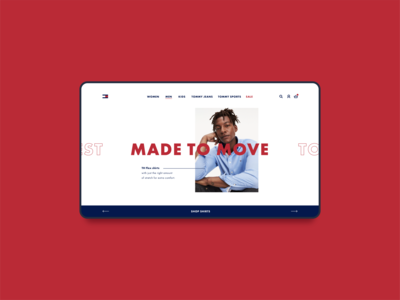Tommy Hilfiger - Landing Page