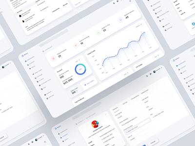 Inventory Management System clean figma dashboard app software design web app web design soft ui modern flat ux design interface dashboard ui kit dashboard ui dashboard