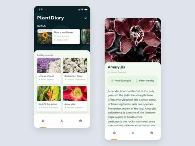 Plant Diary App 🌱