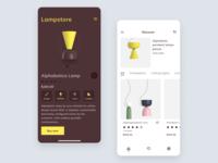 Lamp App UI