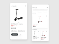 Scooter Ecommerce App