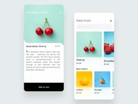 Fruit App UI