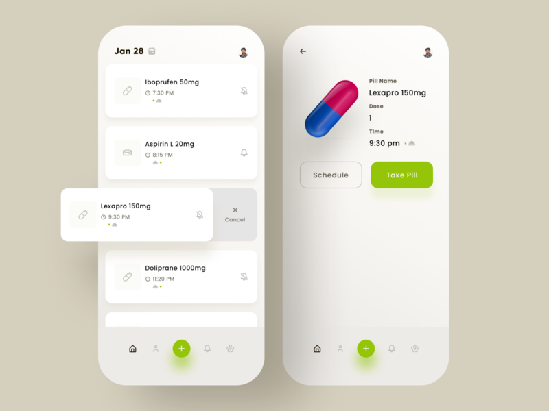 Medicine and Pill Reminder App