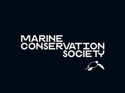 Marine Conservation Society tutle turtle 3d animation underwater kirilov logo rig bubbles