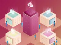 Hybrid Server Illustration