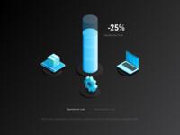 Cost Chart Illustration