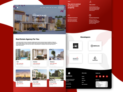 Real Estate Agency Landing Page