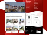 Real Estate Agency Landing Page