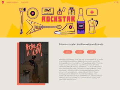 "Website for my book ""Rockstar"""