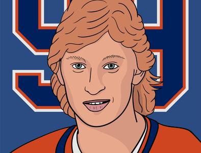 Gretzky Portrait