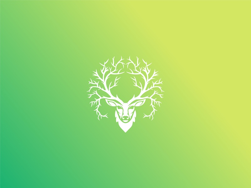 buck logo animal zoo design branding deer illustration deer head bucks deer deer logo buck buck logo
