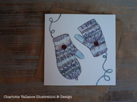 Wooly Winter Mittens
