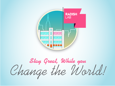 Thank you folks at RadishLab!