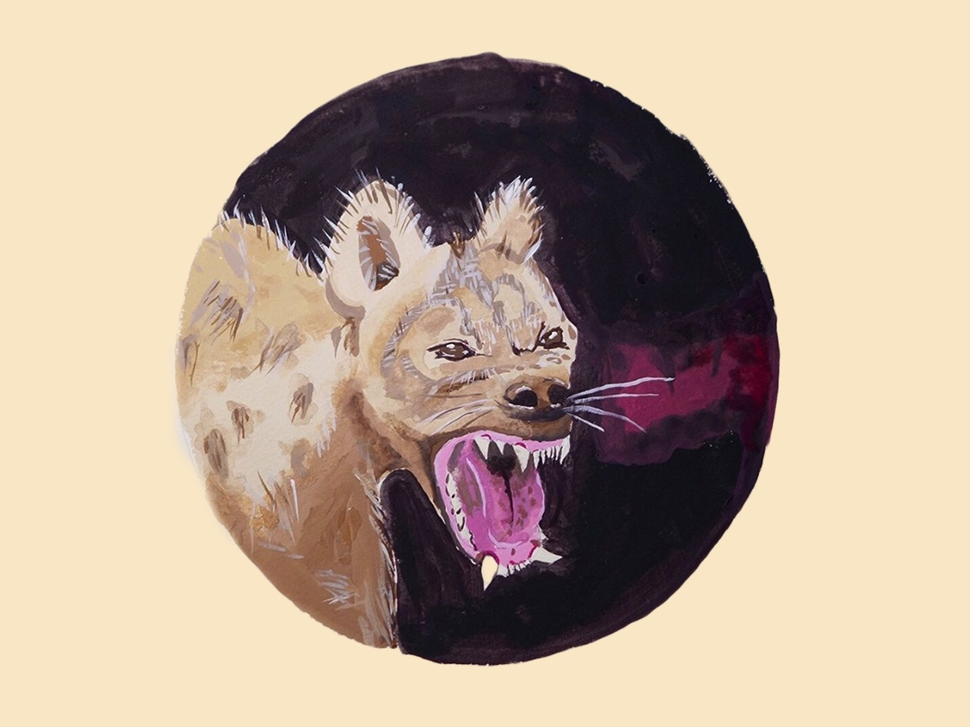 Mouth Study tempera gouache illustraion analog design uiux gouachepainting