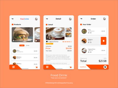 Food and Drink App