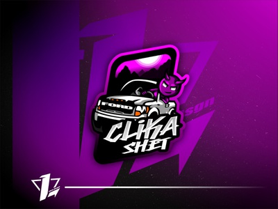 Clika Shet brand simple mascot illustration esports design logo sport flat design designer branding