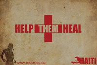 'Help Them Heal' Poster For Haiti