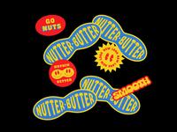 022420 campaign advertising sticker cookies rebrand packaging typography branding logo