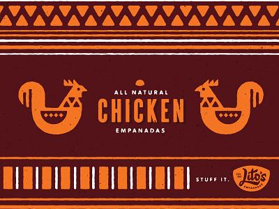 Lito's Empanadas chicken all natural columbian pattern empanadas litos